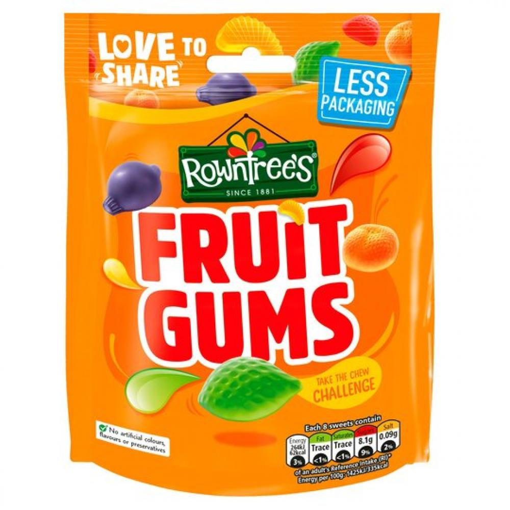 Rowntrees Fruit Gums 150g