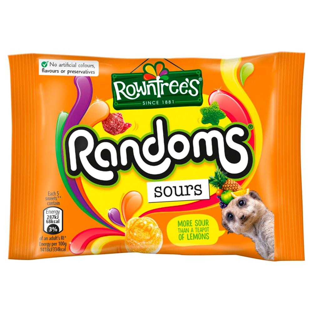 Rowntrees Randoms Sours 43g