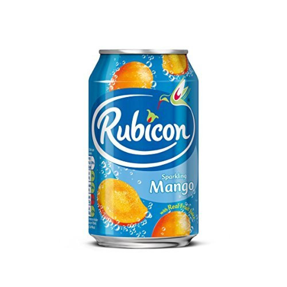 Rubicon Sparkling Mango Juice Drink Cans 330ml