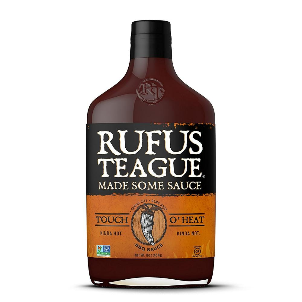Rufus Teague Touch oHeat BBQ Sauce 453g