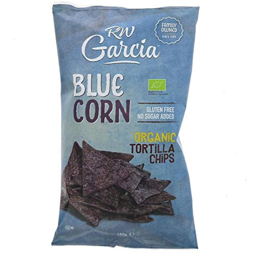 Rw Garcia Blue Corn Tortilla Chips 150g