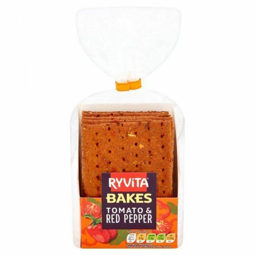 Ryvita Bakes Tomato and Red Pepper 130g