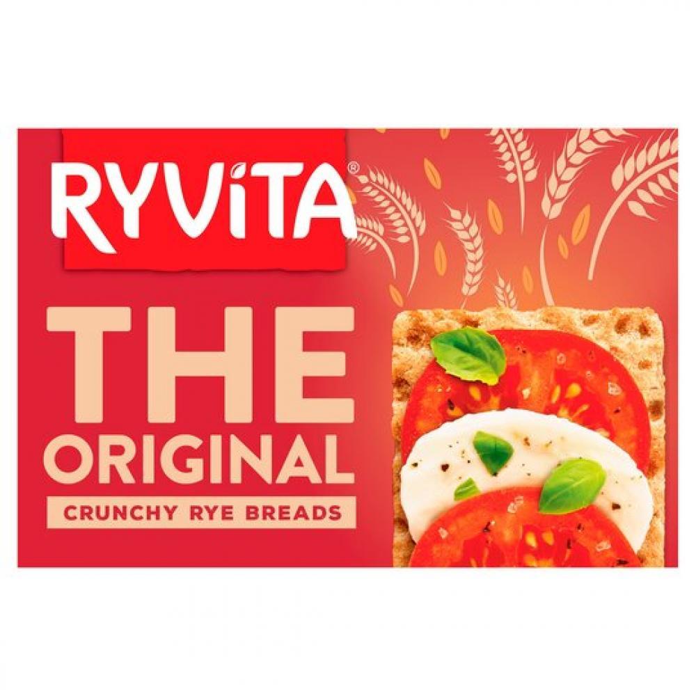 Ryvita Original Rye Crispbread 250g