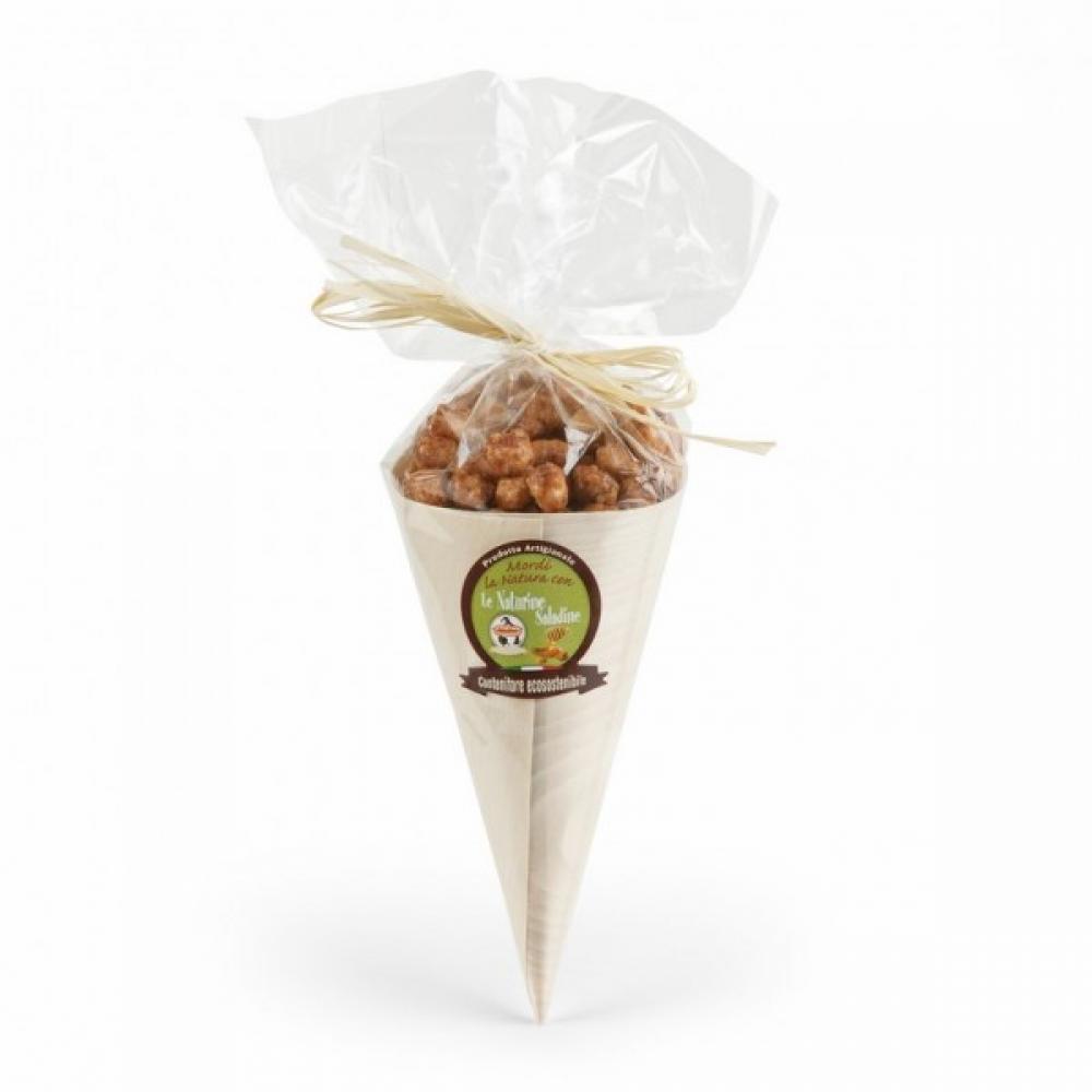 Saladine Cane Sugar Covered Almonds with Italian Honey 125g