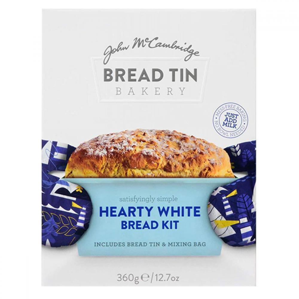 SALE  McCambridge Bread Tin Bakery Hearty White Soda Bread Kit 360g