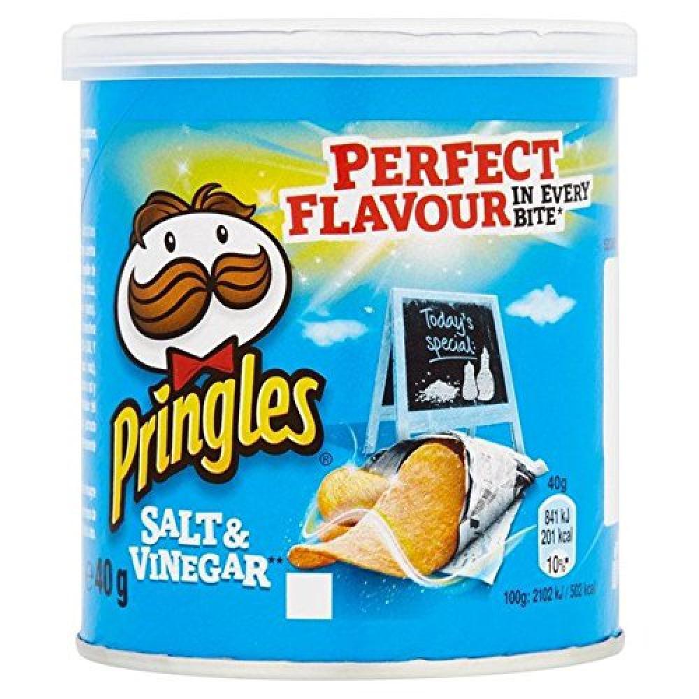 SALE  Pringles Salt and Vinegar 40g