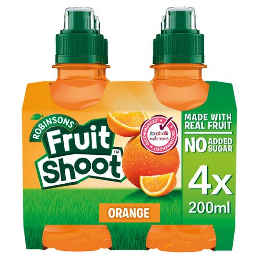 SALE  Robinsons Fruit Shoot Orange 4 x 200ml