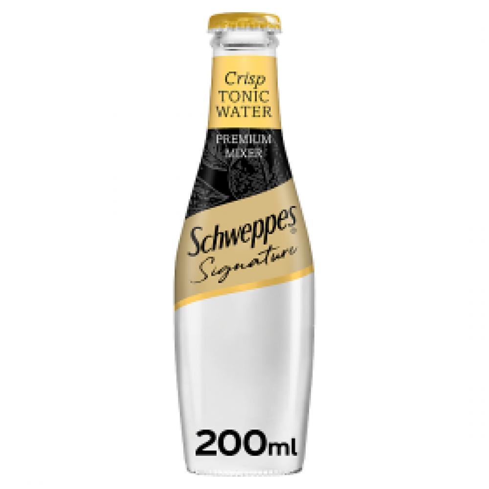 SALE  Schweppes Signature Collection Crisp Tonic Water 200ml