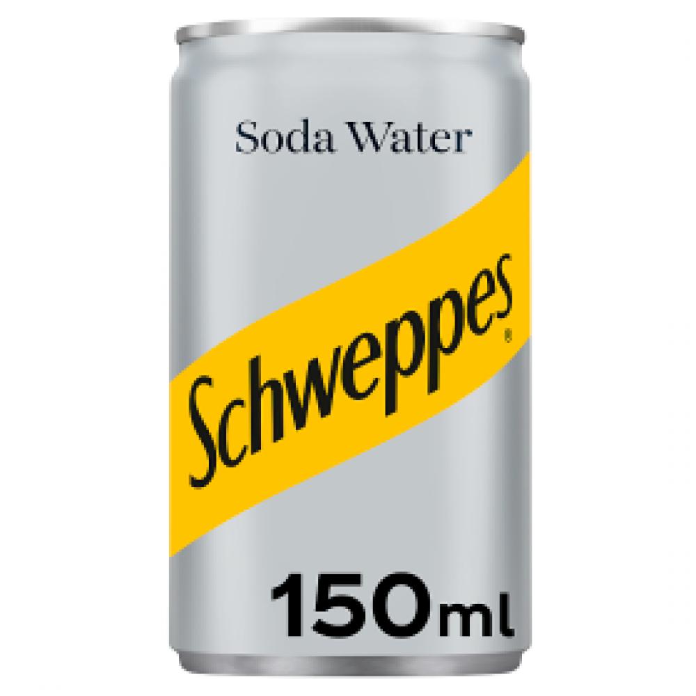 SALE  Schweppes Soda Water 150ml