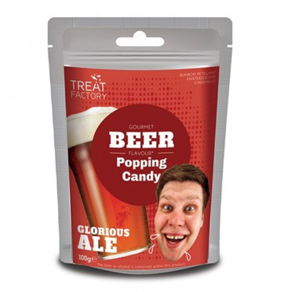 SALE  Treat Factory Gourmet Beer Flavour Popping Candy 100g