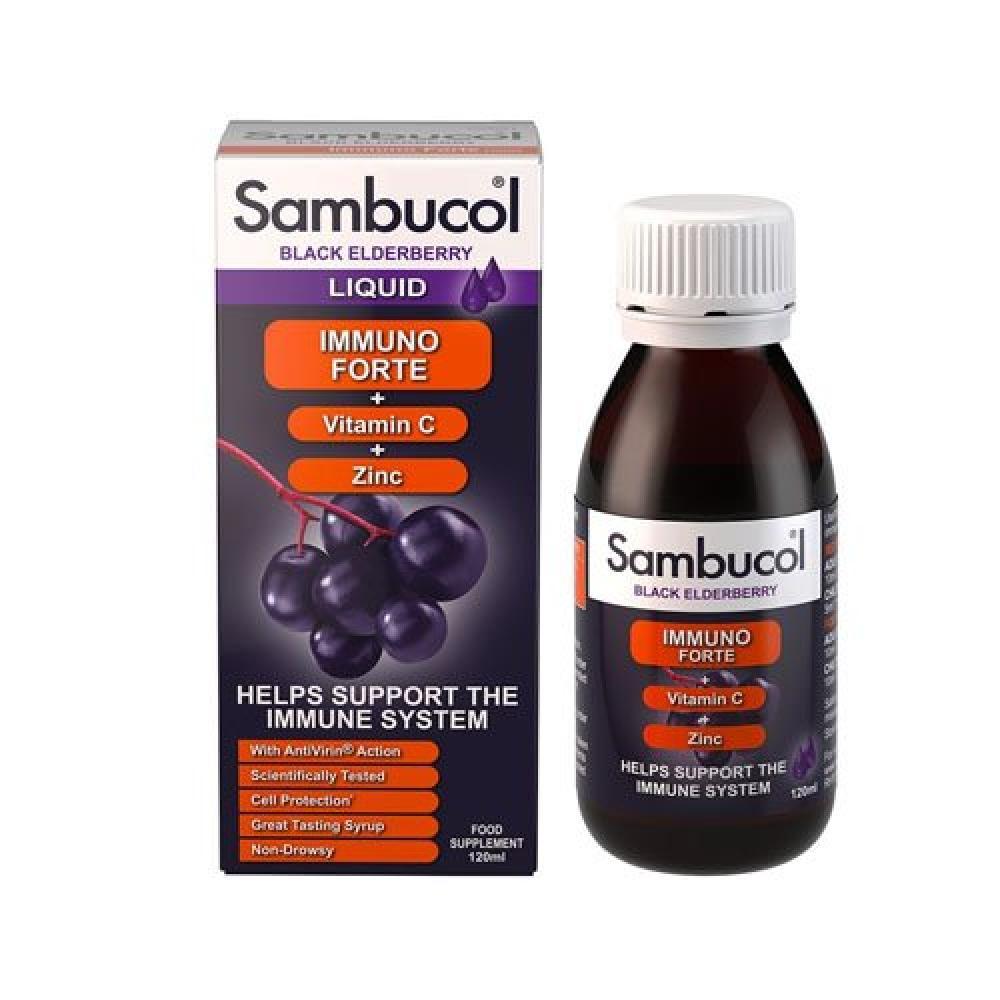 WEEKLY DEAL  Sambucol Black Elderberry Immuno Forte 120ml liquid