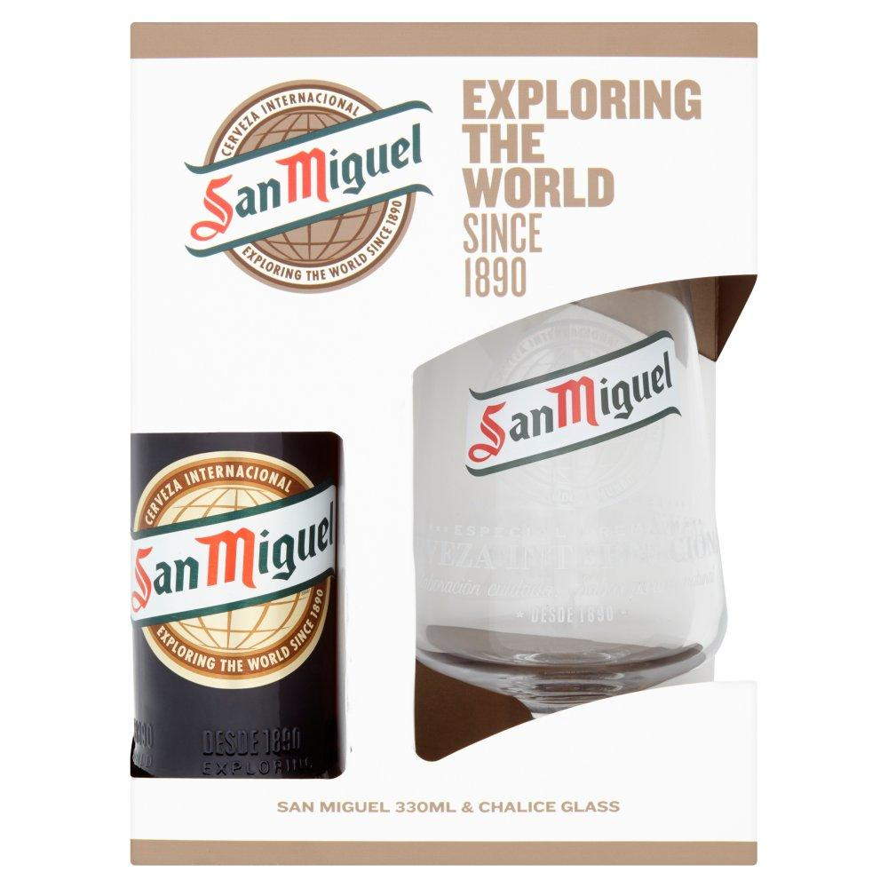 San Miguel Glass Gift Set 330ml
