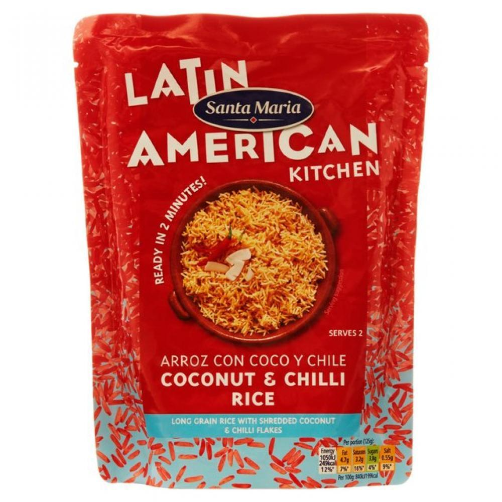 Santa Maria Coconut and Chilli Rice 250g