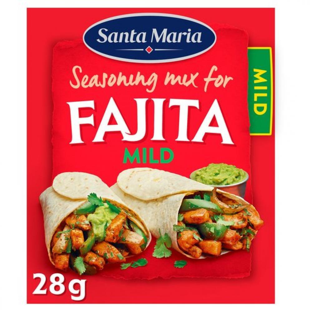 Santa Maria Fajita Seasoning Mix Mild 28g