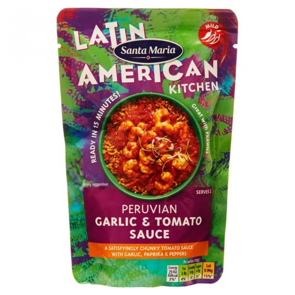 Santa Maria Peruvian Garlic and Tomato Sauce 200g