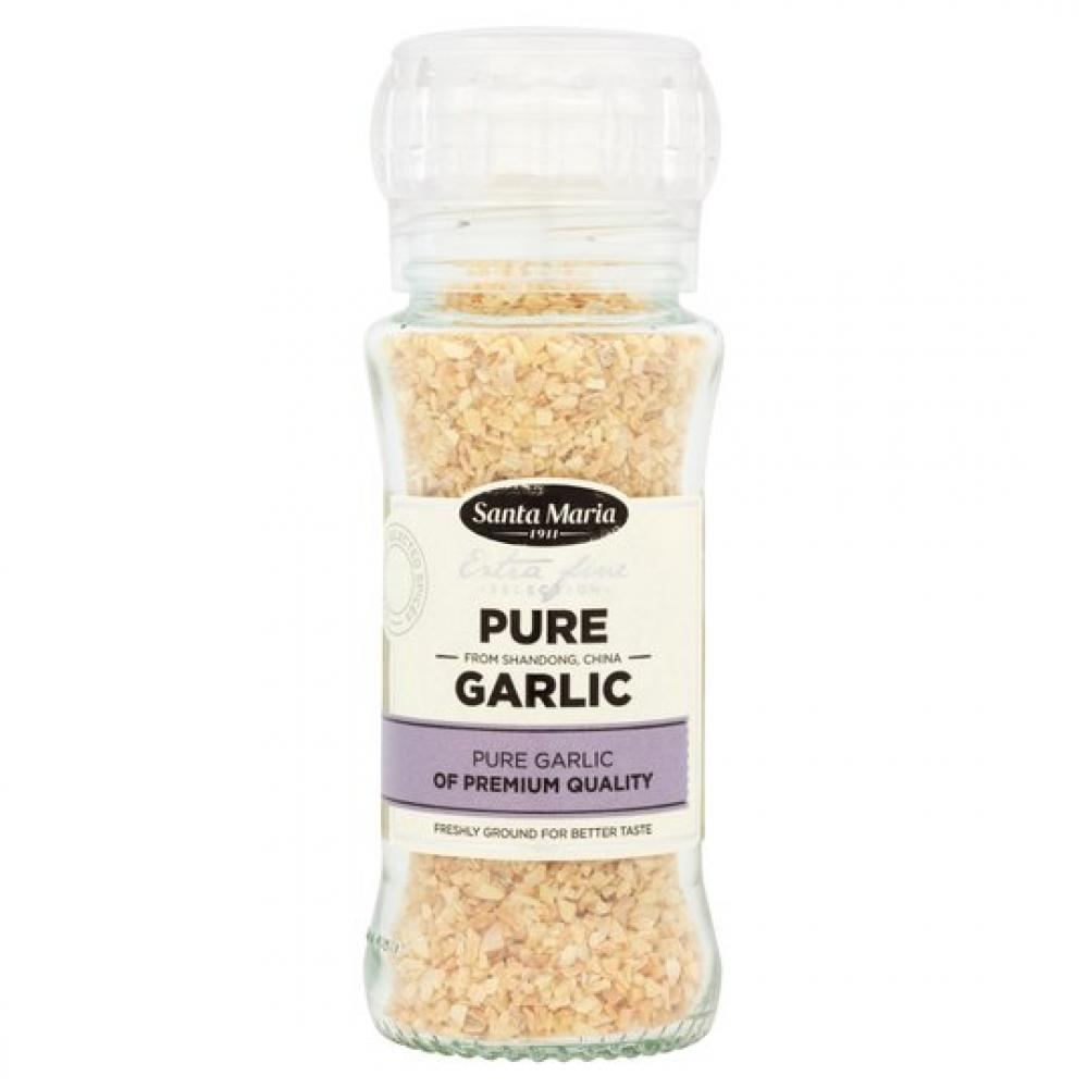 Santa Maria Pure Garlic Seasoning Grinder 80g