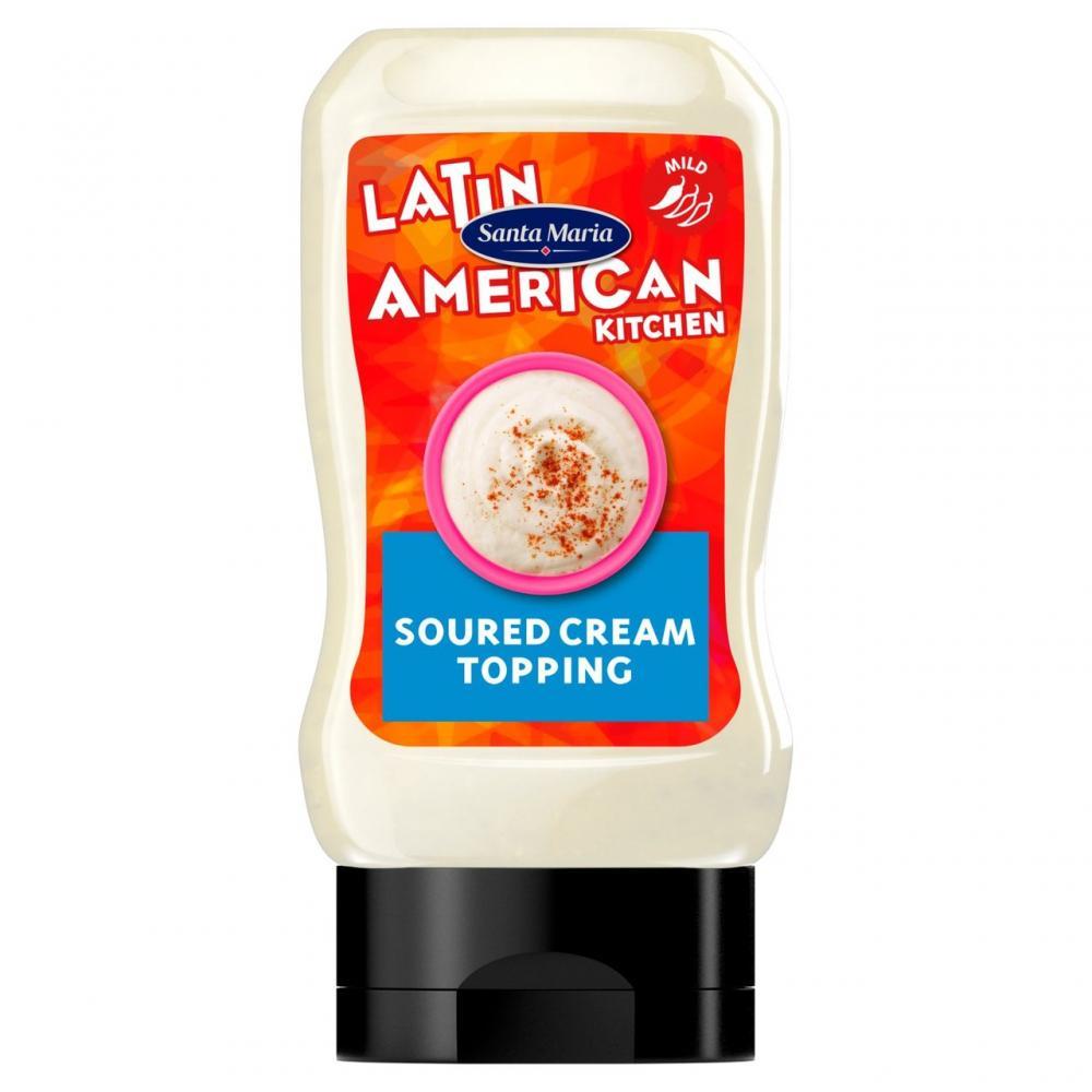 Santa Maria Soured Cream Topping 215g