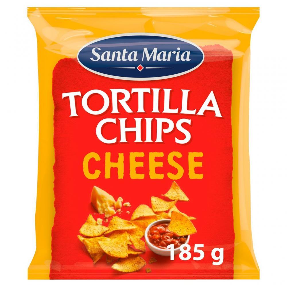 Santa Maria Tortilla Chips Cheese 185g