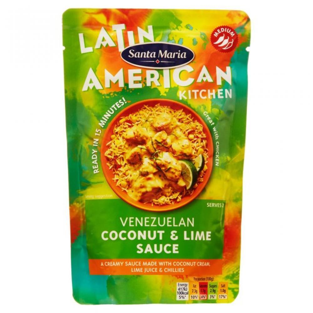 Santa Maria Venezuelan Coconut and Lime Sauce 200g