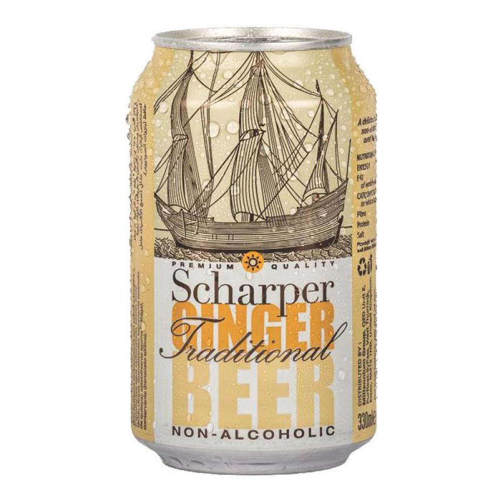 Scharper Non Alcoholic Ginger Beer 330ml