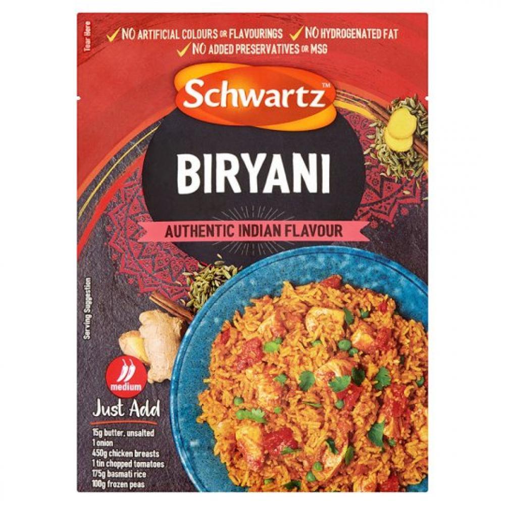 Schwartz Biryani Mix 28g