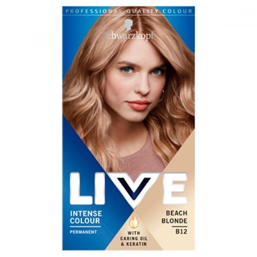 Schwarzkopf Live Intense Colour Beach Blond B12