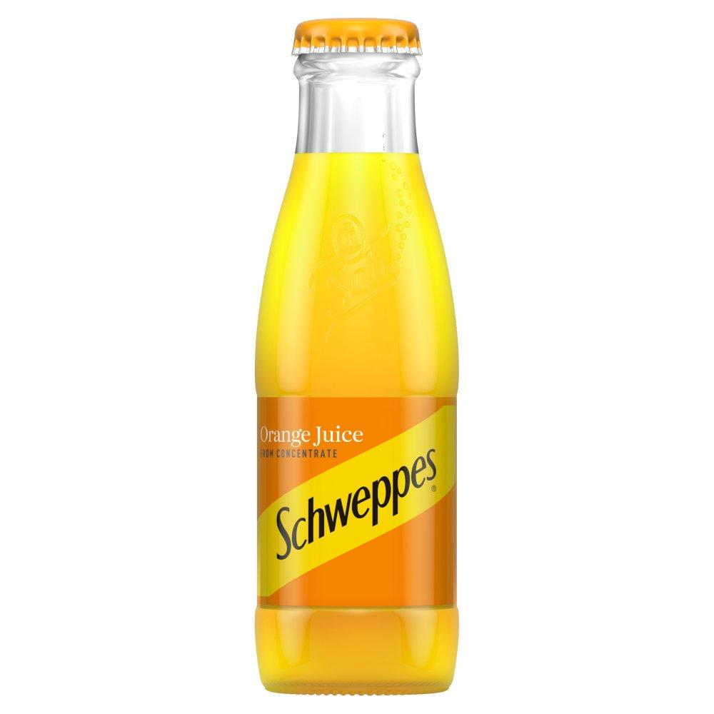 SALE  Schweppes Orange Juice 125ml
