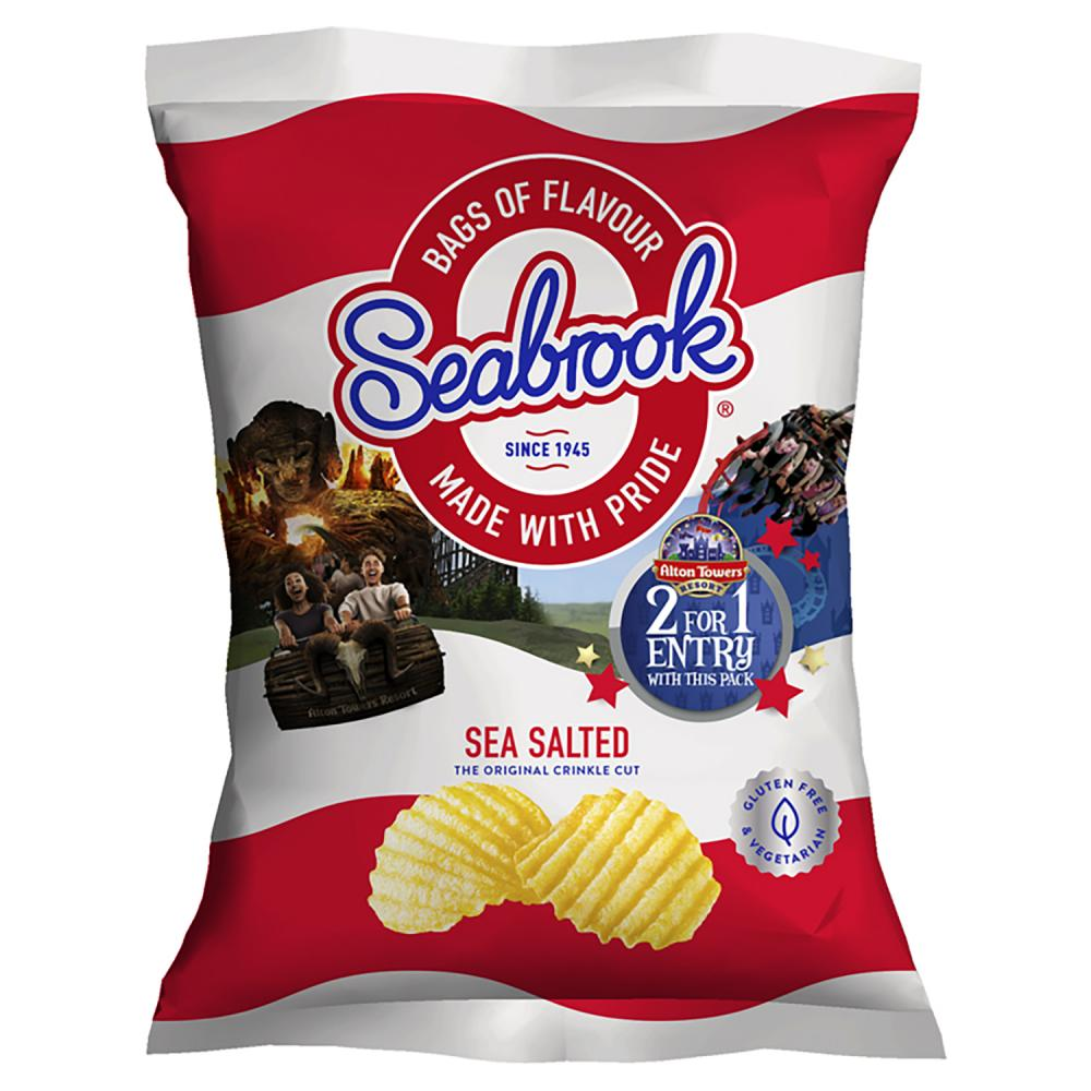 Seabrook Sea Salted Crisps 31.8g