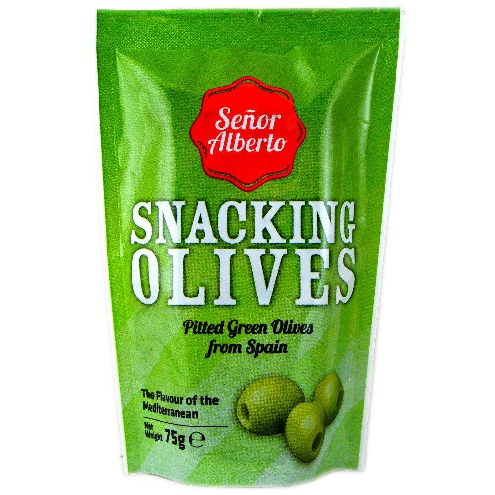 Senor Alberto Green Olives 90g