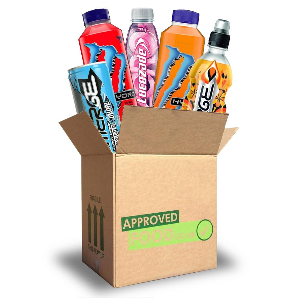 OCTOBER SPECIAL  Approved Food Energy Drinks Box