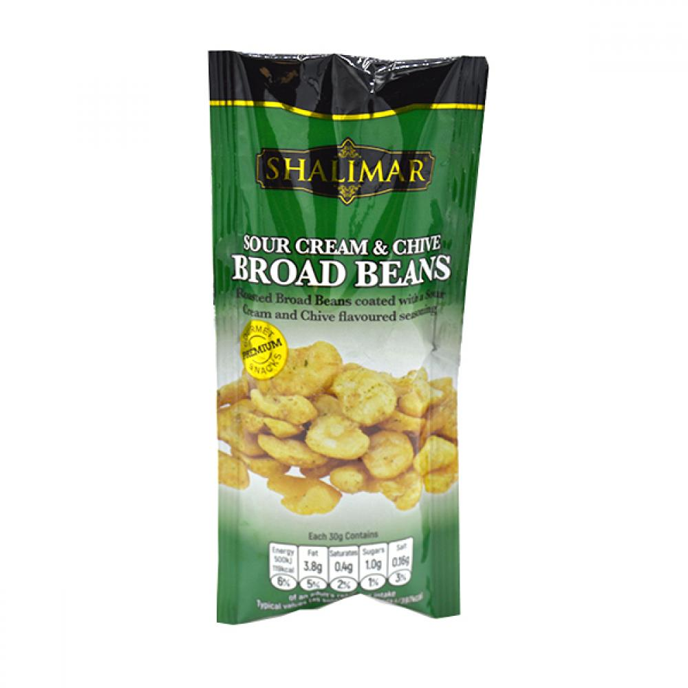 Shalimar Sour Cream and Chive Broad Beans 30g