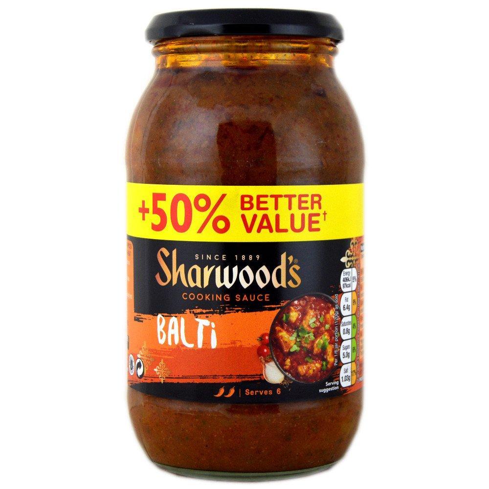 Sharwoods Balti Cooking Sauce 720g