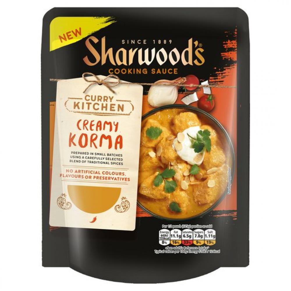 FLASH DEAL  Sharwoods Creamy Korma 250g