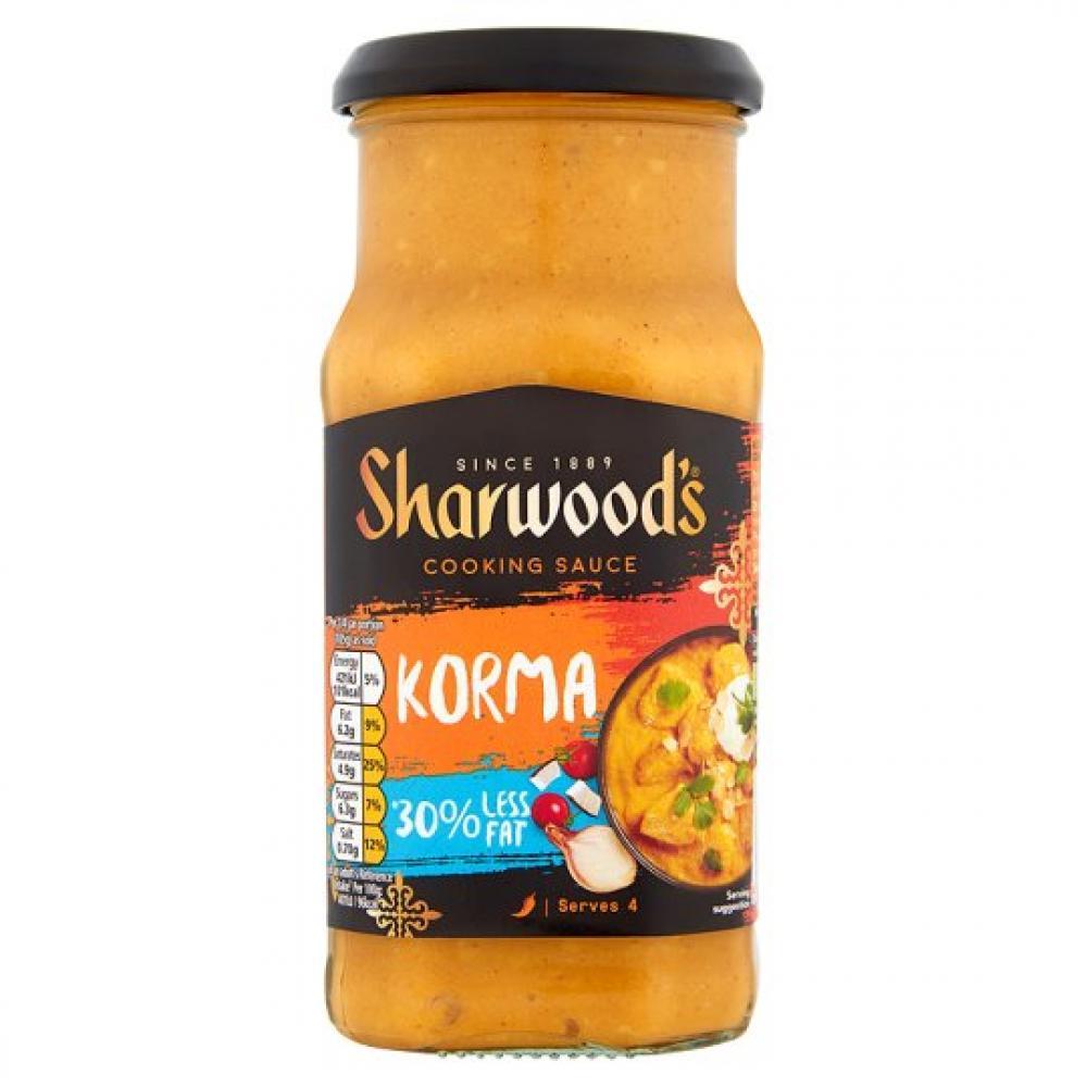 Sharwoods Korma Cooking Sauce 420g