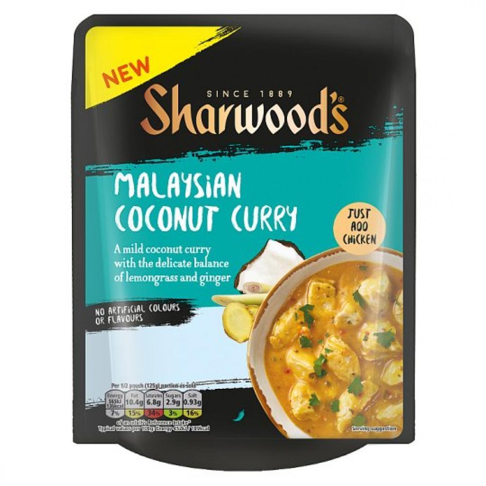 Sharwoods Malaysian Coconut Curry 250g