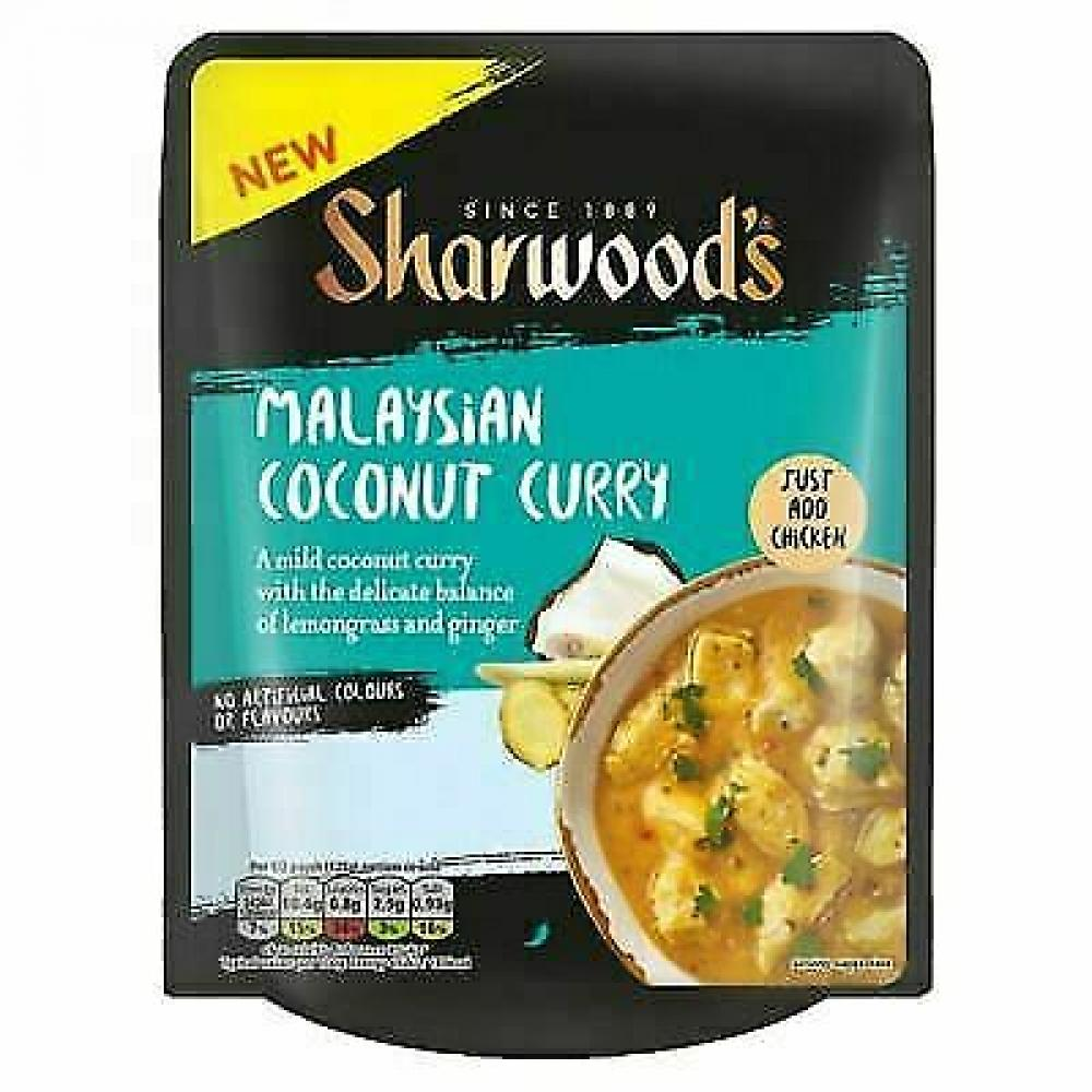 Sharwoods Spice Kitchen Malaysian Coconut Curry 250g