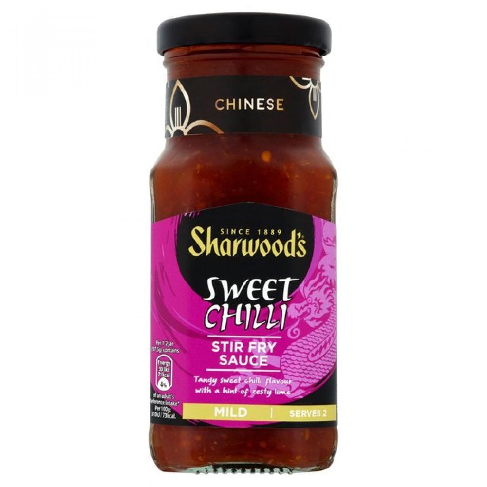 Sharwoods Sweet Chilli Stir Fry Sauce 195g