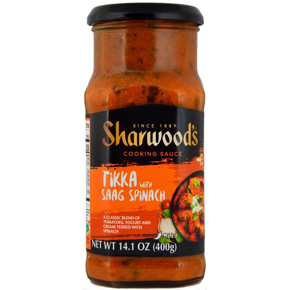 Sharwoods Tikka with Saag Spinach 400g
