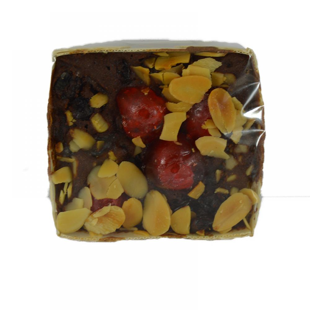 Sherriffs Foods Mini Cherry and Almond Fruit Cake 3 Inch Square