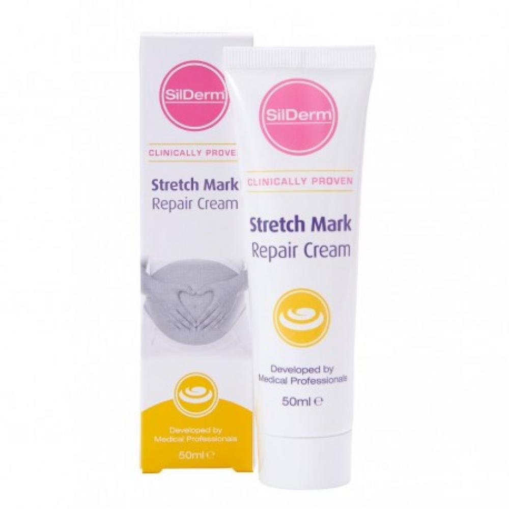 SUMMER SALE  SilDerm Stretch Mark Repair Cream 50ml