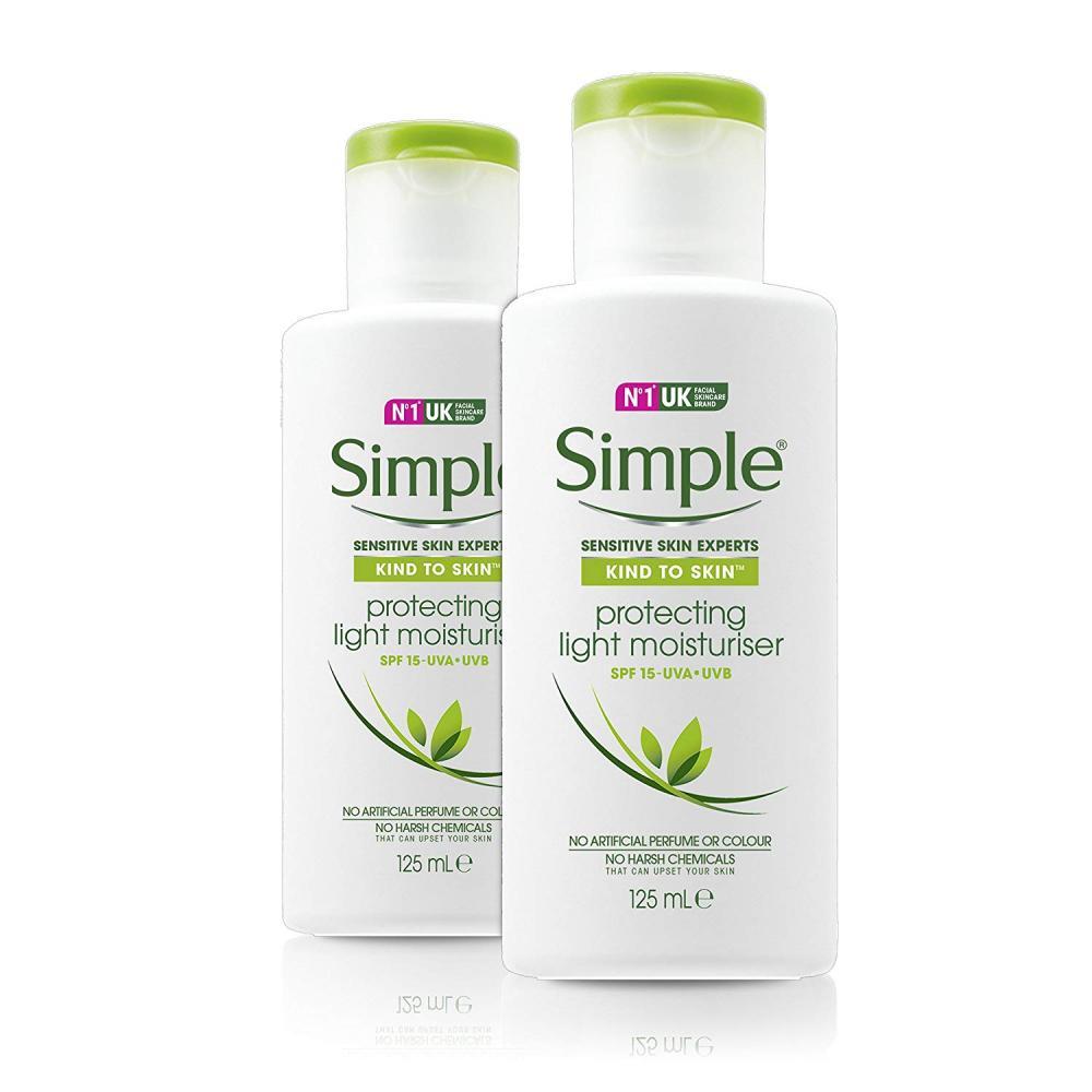 Simple Kind to Skin Protecting Light Moisturiser 125 ml