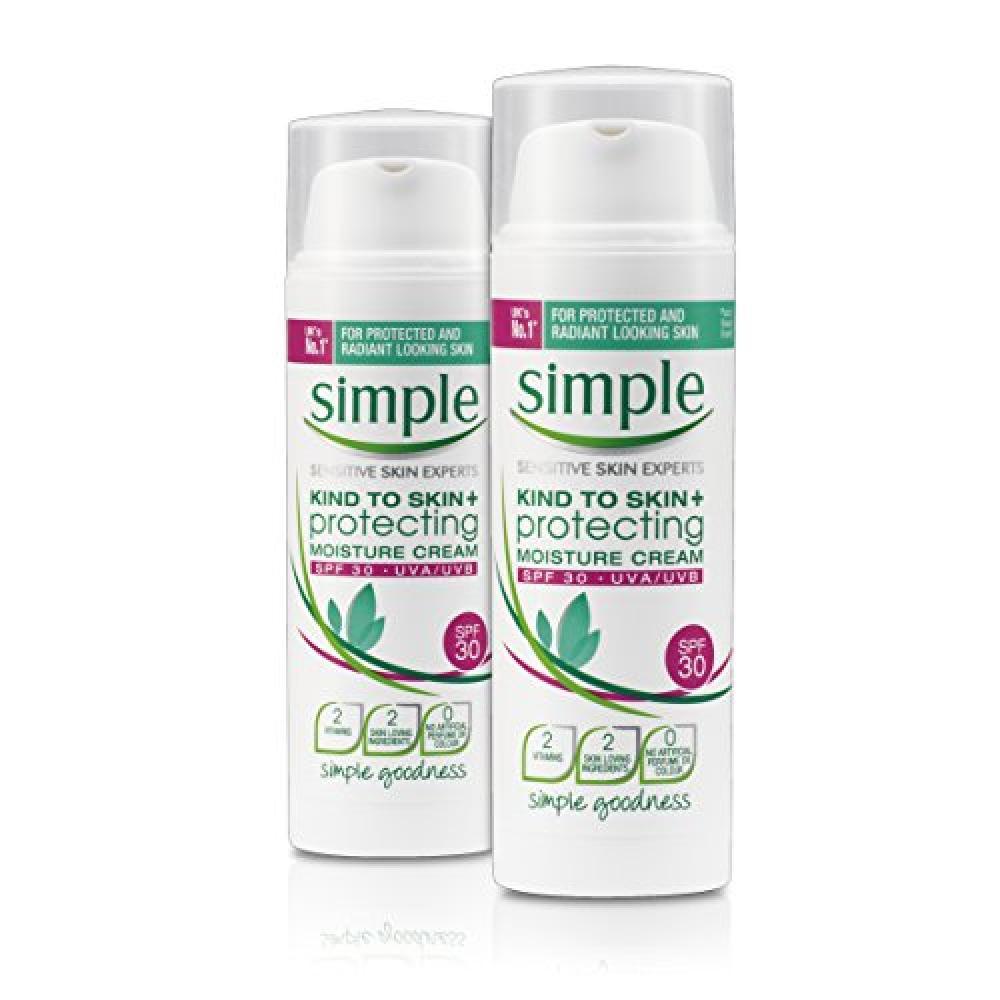 Simple Kind To Skin Protecting Moisture Cream SPF30 50ml