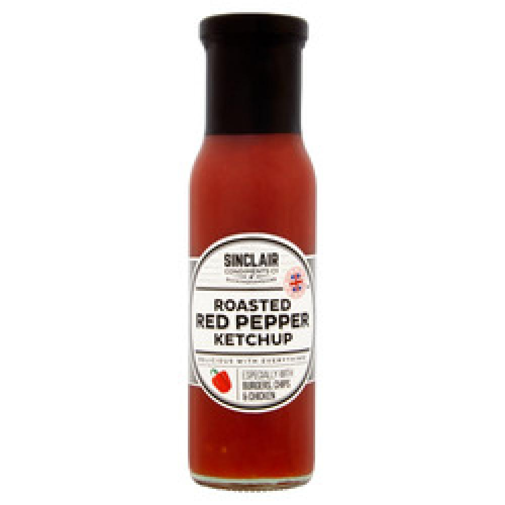 Sinclair Roasted Red Pepper Ketchup 280g