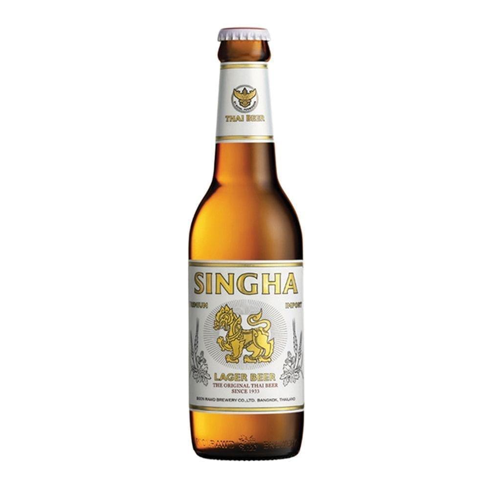 Singha Premium Import Lager Beer 330ml