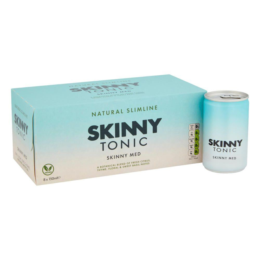 Skinny Med Tonic Water 8 x 150 ml