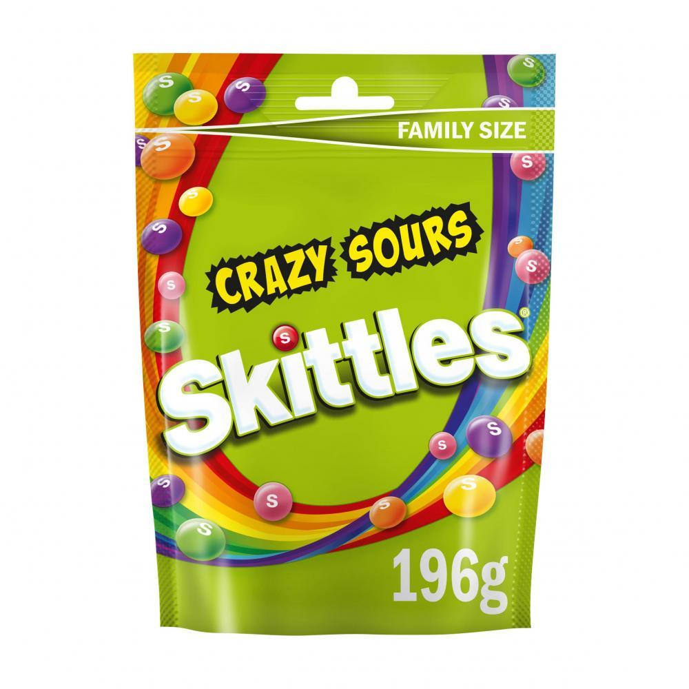 Skittles Crazy Sours 196g