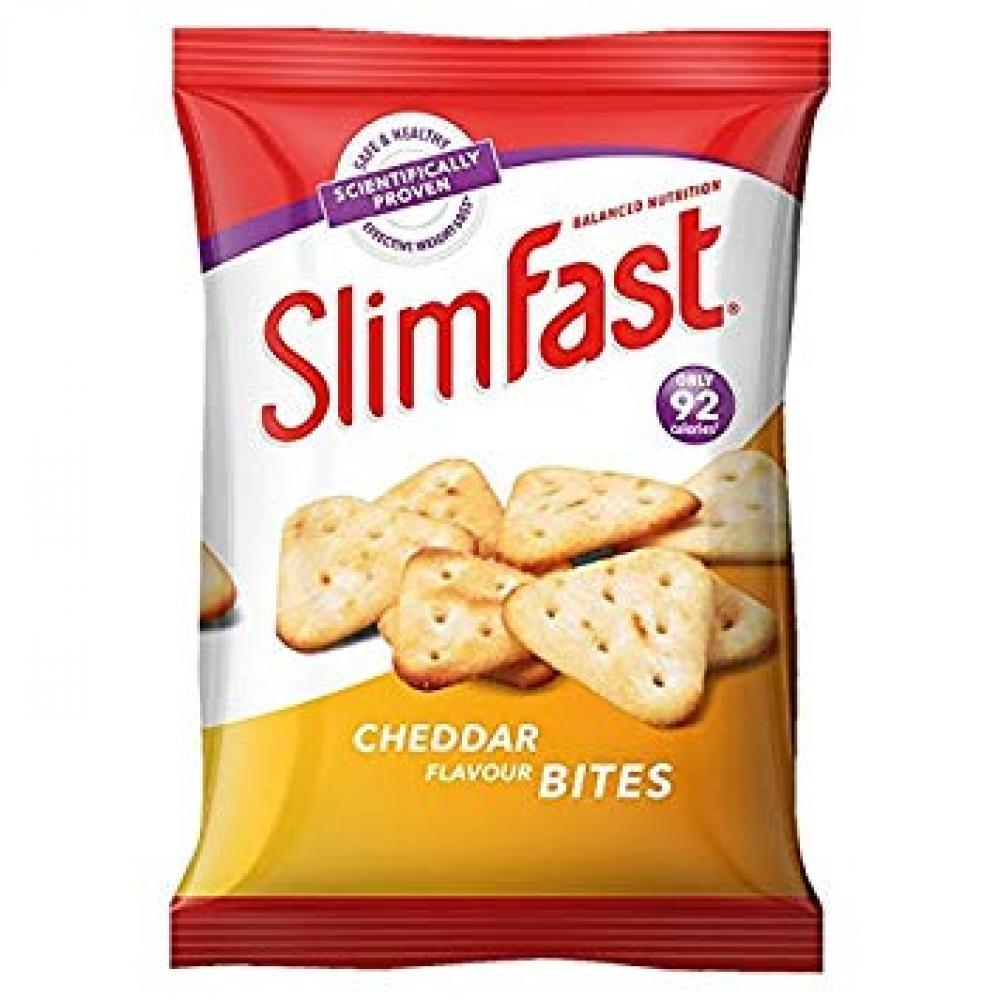 SlimFast Cheddar Bites 22g