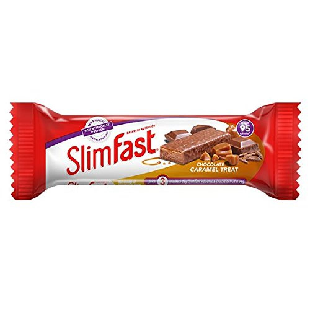Slim fast Chocolate Caramel Snack Bar 26g