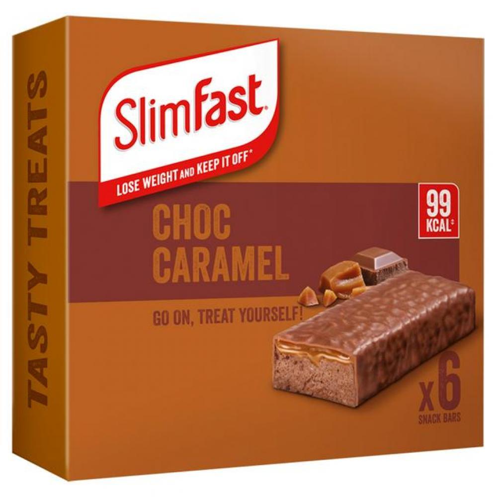 SlimFast Chocolate Cramel Treats 6 x 26 g