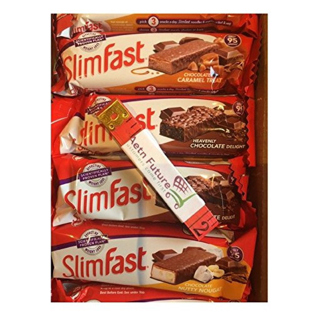 SlimFast Diet Snack Bar Chocolate Caramel Flavour 26g